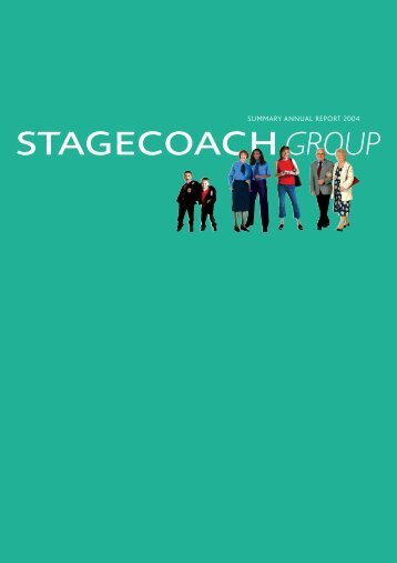 SUMMARY ANNUAL REPORT 2004 - Stagecoach Group