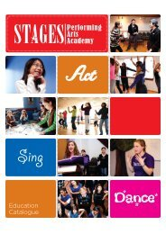 Dance* - Stages St. Louis