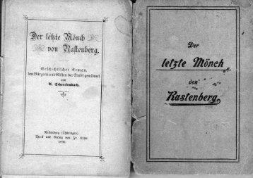 Der letzte Moench von Rastenberg