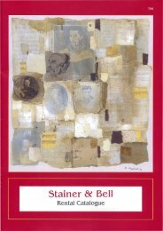 T66. PDF] Download - Stainer & Bell