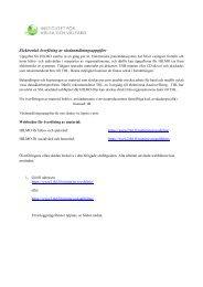 Elektronisk överföring av vårdanmälningsuppgifter - THL