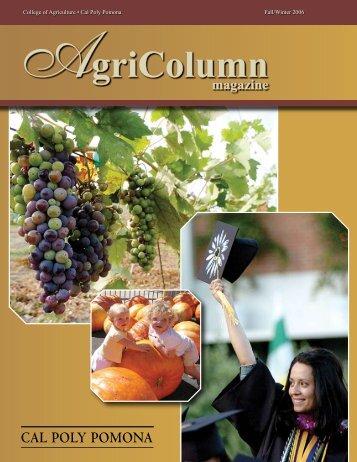 AgriColumn - Cal Poly Pomona