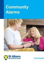 Community Alarms Leaflet (PDF - 949 kb) - St Albans City & District ...