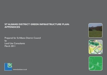ST ALBANS DISTRICT GREEN INFRASTRUCTURE PLAN ...