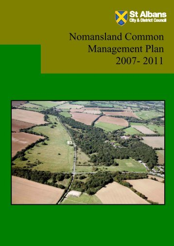 Nomansland Common draft management plan - St Albans City ...