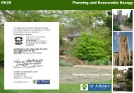 Planning and renewable energy - St Albans City & District Council