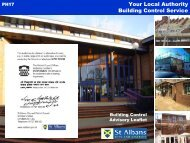 Your local authority building control service - St Albans City & District ...