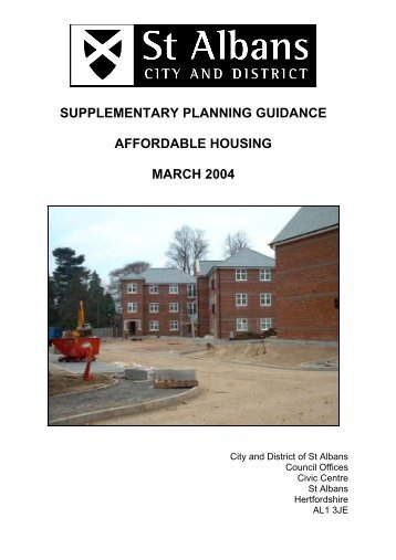 Watling Chase Supplementary Planning Guidance - Partnerships