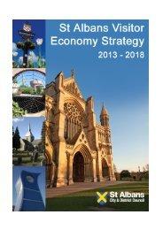 St Albans Visitor Economy Strategy 2013 - 2018 (PDF - 735 kb)