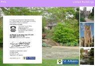 Listed buildings - St Albans City & District Council