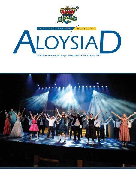 87485 Aloysiad Winter 2010 Indd St Aloysius