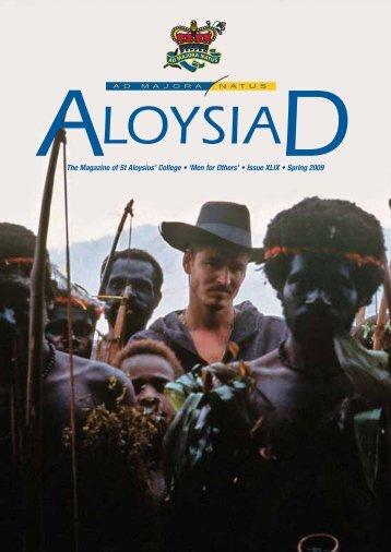 Spring 2009 (1.58mb) - St Aloysius