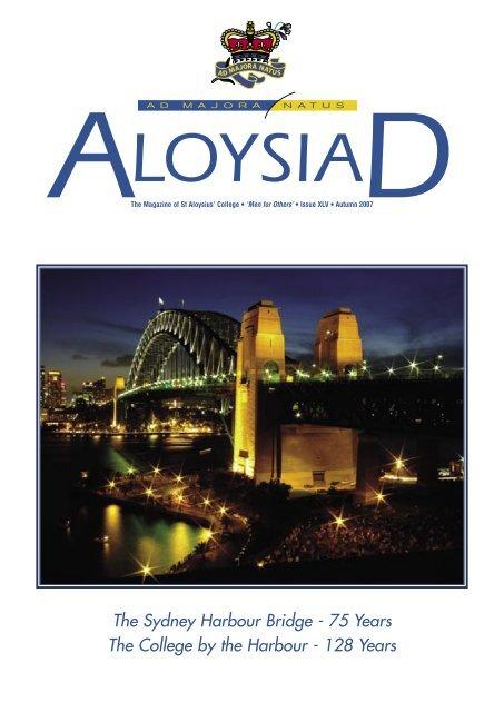 Autumn 2007 St Aloysius
