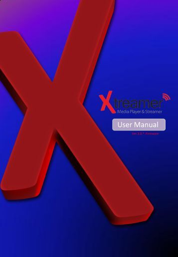 User Manual - Xtreamer