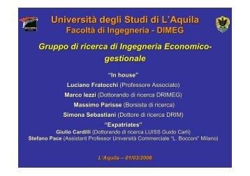 Presentazione - Italian