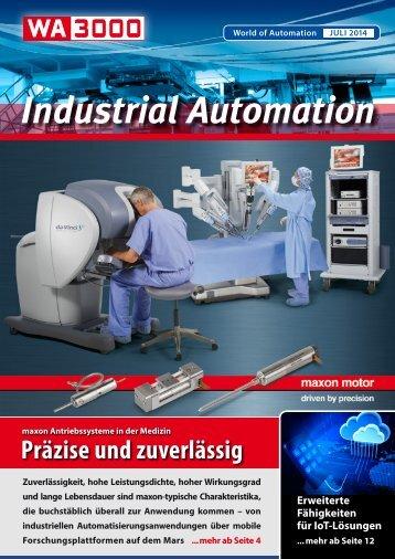 WA3000 Industrial Automation Juli 2014