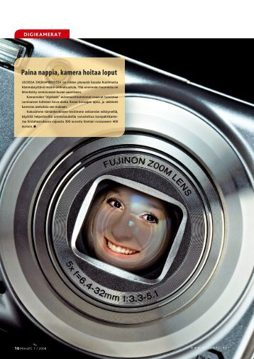 Paina nappia, kamera hoitaa loput - MikroPC