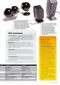 Tietokone- ja kotiteatterikaiuttimilta vaaditaan erilaisia ... - MikroPC - Page 6