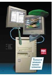 Testissä 20 tehokasta toimisto- työasemaa - MikroPC