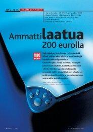 Ammattilaatua 200 eurolla - MikroPC