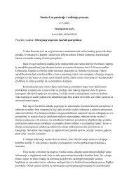Sustavi za praćenje i vođenje procesa - SPVP@zesoi.fer.hr