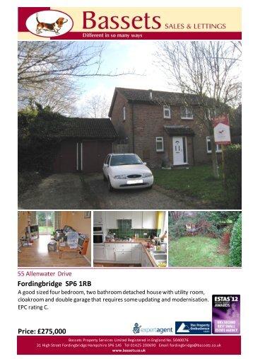 Fordingbridge SP6 1RB Price: £275,000 - Expert Agent