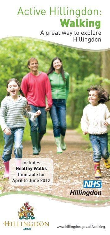 Active Hillingdon: Walking - London Borough of Hillingdon