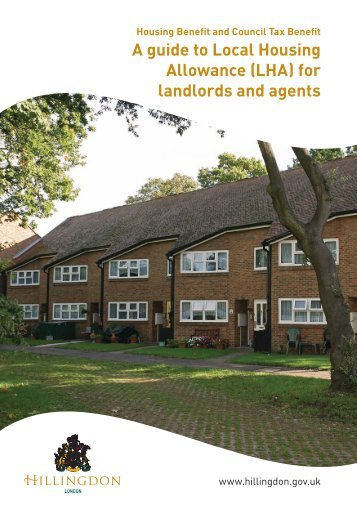 A guide to Local Housing Allowance - London Borough of Hillingdon