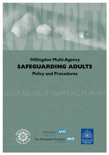 Multi-Agency Safeguarding Adults - London Borough of Hillingdon