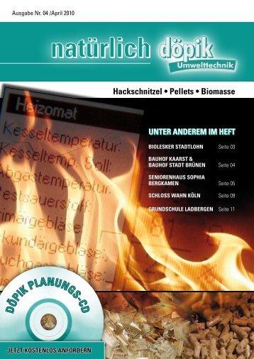 Lesen Sie mehr - Download (2196 KB) - Döpik Umwelttechnik GmbH