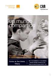 Dossier de prensa de Villena en PDF - Fundación Orange