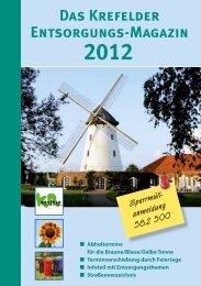 Das Krefelder Entsorgungsmagazin 2012 - EGN ...