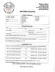 Employment Application - Elmira Heights Central School District