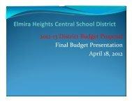 Budget Presentation 4-18-2012 Final Adopted - Elmira Heights ...