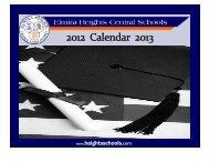 to download the calendar. - Elmira Heights Central School District