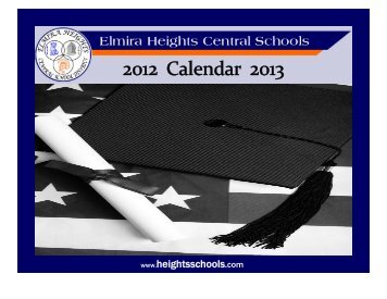 to download the calendar. - Elmira Heights Central School District