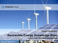 Product Introduction - Renewable Energy Knowledge Base - Infraline