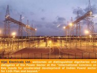Vijai Electricals Limited - Infraline