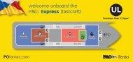 Express Deck Plan - P&O Ferries
