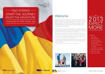 ferry-guide-2013 - P&O Ferries