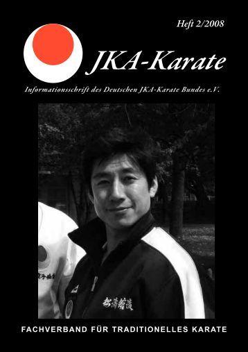 Heft 2/2008 - Deutscher JKA-Karate-Bund e.V.