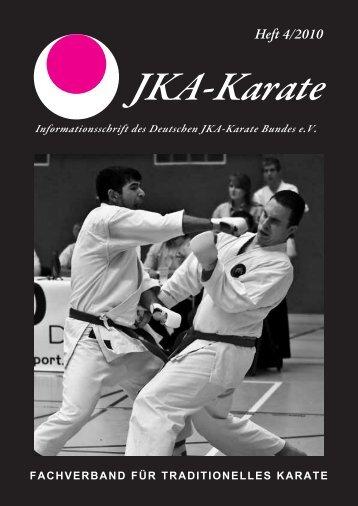 JKA Heft 4-2010-wd - Deutscher JKA-Karate-Bund e.V.