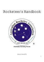 Rocketeer's Handbook - Stanbridges Hobby Shop