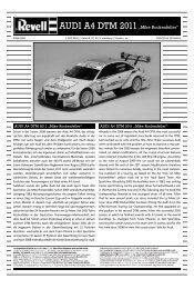 "AUDI A4 DTM 2011""Mike Rockenfeller"" - Hobbico"