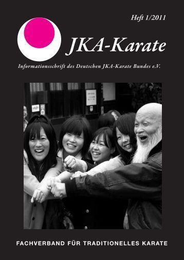 JKA Heft 1-2011-wd-3 - Deutscher JKA-Karate-Bund e.V.