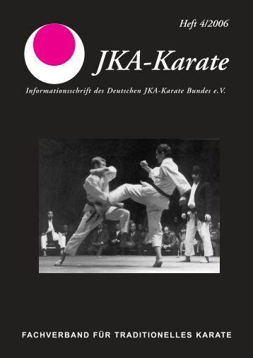 Heft 4/2006 - Deutscher JKA-Karate-Bund e.V.