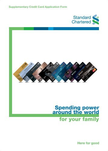 Standard Chartered Launches Co Branded Credit Card