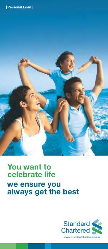 Personal Loans Terms & Conditions - Standard Chartered Bank