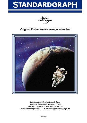 Bullet Space Pens - Standardgraph Zeichentechnik GmbH