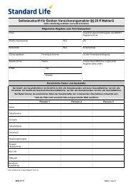 Selbstauskunft Versicherungsmakler 26 Ff Maklerg